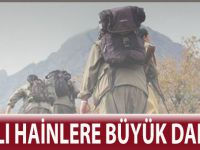 PKK'LI HAİNLERE BÜYÜK DARBE