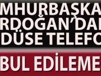 Cumhurbaşkanı Erdoğan'dan Kudüs'e Telefon!!