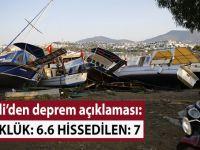 Kandilli'den deprem açıklaması!