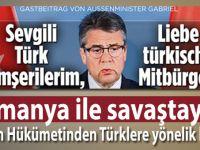 Almanya ile soğuk savaş; Türklere yönelik bildiri yayınladılar!