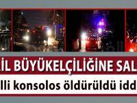 İsrail Büyükelçiliği'ne saldırı!