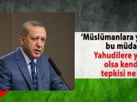 """Cumhurbaşkanı Erdoğan; """"Netanyahu'nun açıklamalarının kabul edilebilir bir yanı yok!"""""""
