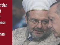 Cumhurbaşkanı Erdoğan'dan 'Mehmet Görmez' açıklaması: Zaten tartışılması için öyle cümleler kurdum
