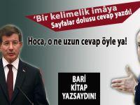 Ahmet Davutoğlu Bahçeli'ye cevap verdi