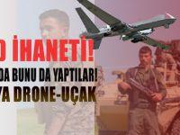 ABD terör örgütü PKK'ya şimdi de İHA veriyor!