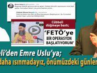 """İstanbul'a inen felâketin sebebi; Cübbeli'den Emre Uslu'ya; """"Bekle daha ısınmadayız..."""""""