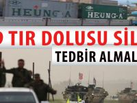 ABD, PKK'ya silah yağdırıyor; 809 Tır dolusu cephane!