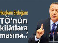 """Cumhurbaşkanı Erdoğan:"""" FETÖ'nün teşkilatlara sızmasına izin vermeyin!"""""""