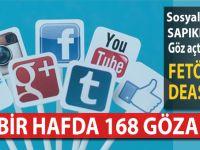 Sosyal medya sapıklarına 168 gözaltı!