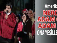 ABD'den Venezuela lideri Maduro hakkında yaptırım kararı!