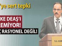 """Cumhurbaşkanlığı sözcüsü Kalın; """"50 Ülke DEAŞ'ı bitiremiyor, bu hiç rasyonel değil!"""""""