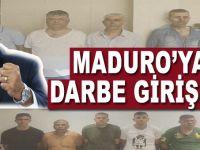 Venezuela'da Maduro'ya darbe girişimi!