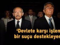 Baykal'dan Kılıçdaroğlu'na: Devlete karşı işlenmiş bir suçu destekleyemem!