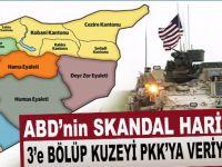 Skandal; ABD'nin PKK devleti haritası bu!