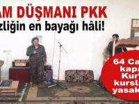 İslâm ve insanlık düşmanı PKK; Afrin'de 64 camiyi kapattı Kur'an kurslarını yasakladı