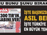 Onu bunu bırakın; İşte Türkiye'nin başındaki asıl bela!