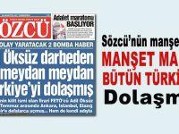Sözcü'den 'olay yaratacak' yalan; Manşet manşet Türkiye'yi kandırmışlar!