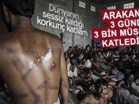 Arakan'da 3 günde 3 bin Müslüman katledildi!