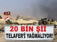 20 Bin Şii Telafer'i yağmalıyor!