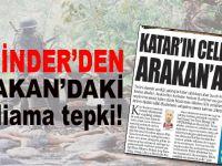 YENİNDER'den Arakan'daki katliama tepki!