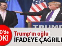 ABD'de şok; Trump'ın oğlu ifadeye çağrıldı!