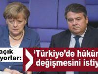 """""""Türkiye'de hükümetin değişmesini istiyoruz!"""""""