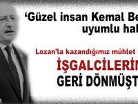 """Salih Tuna; """"Lozan'la kazandığımız mühlet bitmiş, işgalcilerimiz geri dönmüştür!"""""""
