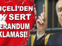 """Bahçeli: """"Bedel ödemekten bahseden Barzani'ye bedeli ödettirecek de güçteyiz!"""""""