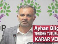 HDP'li Bilgen'in yeniden tutuklanmasına karar verildi!