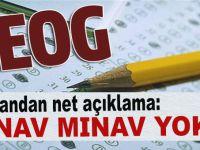 Milli Eğitim Bakanı Yılmaz: Bu yıl TEOG sınavı yapılmayacak!