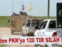 ABD'den PKK'ya 120 TIR silah daha!
