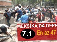 Meksika'da 7,1 büyüklüğünde deprem!