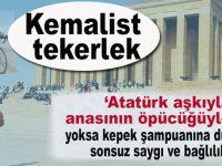"""""""Atatürk aşkıyla mı, anasının öpücüğüyle mi?"""""""