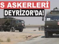 Rus askerleri Deyrizor'da; ABD-Rusya karşı karşıya!