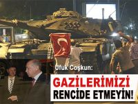 """Ufuk Coşkun: """"Gazilerimizi rencide etmeyin!"""""""