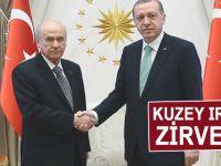 Kritik zirve; Cumhurbaşkanı Erdoğan-Bahçeli görüşmesi!
