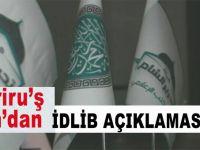 """Tahriru'ş Şam'dan 'son durum' açıklaması; """"İdlib onların gezinti yeri değildir!"""""""