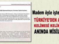 Türkiye'den ABD'ye anında misilleme; Vizeler askıya alındı!