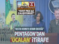 """Pentagon'dan 'Öcalan' itirafı; """"Destekliyoruz ve desteklemeye devam edeceğiz!"""""""