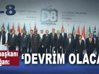 """Cumhurbaşkanı Erdoğan; """"Bunu yapabilirsek bir devrime imza atmış olacağız!"""""""