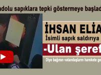 İhsan Eliaçık isimli sapık saldırıya uğradı!
