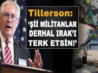 ABD: Şii militanlar Irak'ı derhal terk etsin!