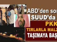 Suud'dan PKK'ya TIR dolusu yardım!