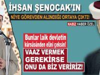 İhsan Şenocak'ın niye görevden alındığı ortaya çıktı!