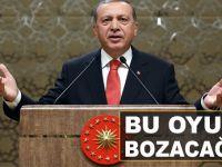 """Cumhurbaşkanı Erdoğan; """"Bu oyunu bozacağız, demokrasi ile hareket ediyorlarsa, demokrasi ile bozacağız!"""""""