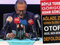 Balıkesir Belediye Başkanı Ahmet Edip Uğur ağlaya zırlaya görevi bıraktı!