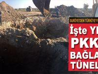 İşte YPG'yi PKK'ya bağlayan tüneller; bir ucu Suriye'de, bir ucu Türkiye'de!