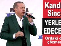 """Cumhurbaşkanı Erdoğan: """"Kandil ve Sincar'ı yerle bir edeceğiz!"""""""
