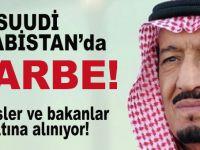 Ve Suudi Arabistan'da darbe; Çok sayıda bakan ve prens gözaltına alınıyor!