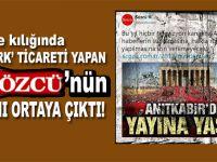 Gazete kılığında 'Atatürk ticareti' yapan Sözcü'nün yalanı ortaya çıktı!